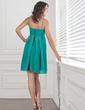 Imperialna Kochanie Krótka/Mini Chiffon Suknia dla Druhny Z Żabot (007001460)