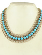 Exquisite Alloy With Imitation Stones Women's Fashion Necklace (011034153)