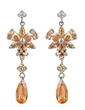 Exquisite Alloy With CZ Cubic Zirconia Ladies' Fashion Earrings (011036706)