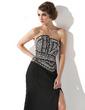 Çan/Prenses Taraklı Yaka Kısa Kuyruk Chiffon Gece Elbisesi (017005818)