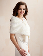 Faux Fur Wedding Shawl (013005746)