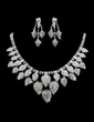 Gorgeous Alloy With Rhinestone Ladies' Jewelry Sets (011013123)