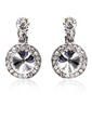 Elegant Alloy/Rhinestones Ladies' Earrings (011018486)