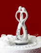 Bride And Groom Ceramic Wedding Cake Topper (119030865)