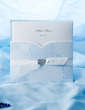 Personalized Classic Style Wrap & Pocket Invitation Cards With Bows (Set of 50) (114055078)
