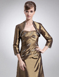 3/4-Length Sleeve Taffeta Special Occasion Wrap (013012300)