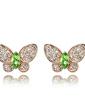 Elegant Alloy With Crystal Women's Earrings (011037062)