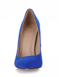 Suede Stiletto Heel Pumps Closed Toe shoes (085017512)