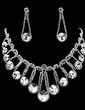 Gorgeous Alloy/Rhinestones Women's Jewelry Sets (011019388)