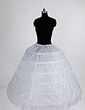 Women Nylon/Tulle Netting Floor-length 1 Tiers Petticoats (037004105)