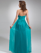 Chiffon Floor-length Empire Bridesmaid Dress with Sweetheart Neckline (007016755)