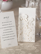 Personalized Floral Style Wrap & Pocket Invitation Cards (Set of 50) (114055080)