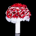 Classic Round Satin Bridal Bouquets -