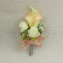 Attractive Satin Boutonniere -