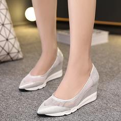 Femmes Similicuir Talon compensé Compensée avec Autres chaussures