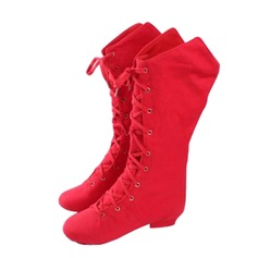 Women's Kids' Canvas Boots Dance Boots Dance Shoes