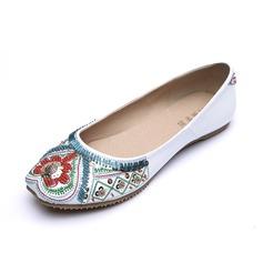 Keinonahasta Matalakorkoiset Heel Matalakorkoiset Suljettu toe jossa Helmikuvoinnit kengät