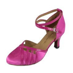 Donna Raso Tacchi Latino Moderno con Listino alla caviglia Scarpe da ballo