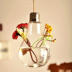 Hanging Bulb Glass Vase