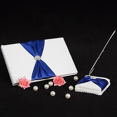 Splendor Bow Guestbook/Pen Set