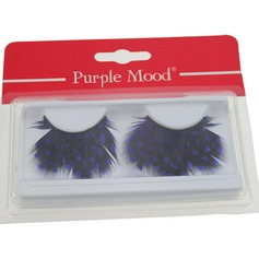 1 Pair Feather False Eyelashes CFE407