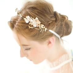 Glamourous Rhinestone/Alloy/Freshwater Pearl Headbands