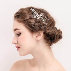 Ladies Romantic Rhinestone/Alloy/Imitation Pearls Combs & Barrettes