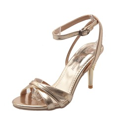 Vrouwen Stiletto Heel Pumps Sandalen Beach Wedding Shoes met Gesp