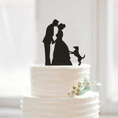 Figurine Acrylic Cake Topper