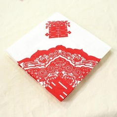 Double Happiness Design Dinner Napkins (Set of 20)