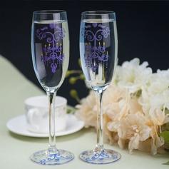 Glas Rostning Flöjter (Sats Om 2)