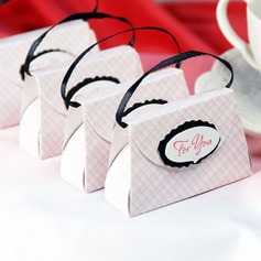 Handbag shaped Favor Boxes (Set of 12)