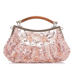 Unique Polyester With Beading/Sequin Clutches/Top Handle Bags