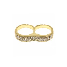 Shining Alloy With Rhinestone Ladies' Fashion Rings