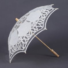 Dreamlike Cotton Wedding Umbrellas