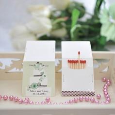 Personalizzato Uccello Design Hard Card carta Scatola personalizzata di fiammiferi (Set di 50)