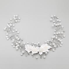 Elegantní Slitina/Faux Pearl Čelenky