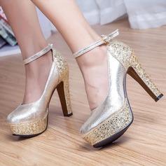 Women's Leatherette Chunky Heel