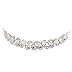 Fashion Alloy/Pearl Tiaras