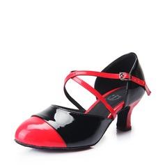 Femmes Similicuir Talons Escarpins Moderne avec Lanière de cheville Chaussures de danse
