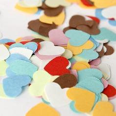 Conception de coeur Papier Petit pétals de confetti papier (Lot de 350 pièces)