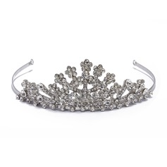Gorgeous Rhinestone/Alloy Tiaras/Hair Flowers