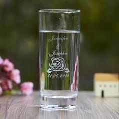 Personalizzato Disegno del fiore Vetro Coppa