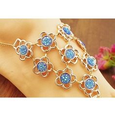Rhinestone Foot Jewellery Accessories