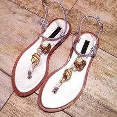Frauen Echtleder Flascher Absatz Peep Toe Sandalen Beach Wedding Shoes