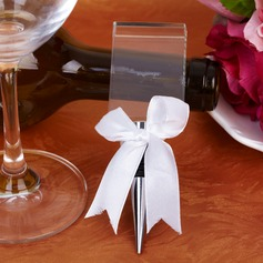 Personalized Forever Love Bottle Stoppers With Ribbons