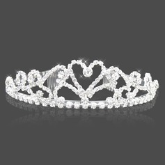 Attractive Clear Crystals Wedding Bridal Tiara