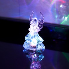 Color changing Angel Design LED Lights (set of 4) (More Colors)