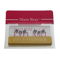 1 Pair Natural Thick Long Split Style False Eyelashes CFE573