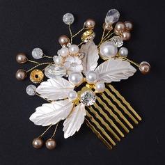 Beautiful Rhinestone/Alloy/Imitation Pearls Combs & Barrettes